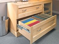 Lateral File Cabinet Woodworking Plan | Wood Projects ...