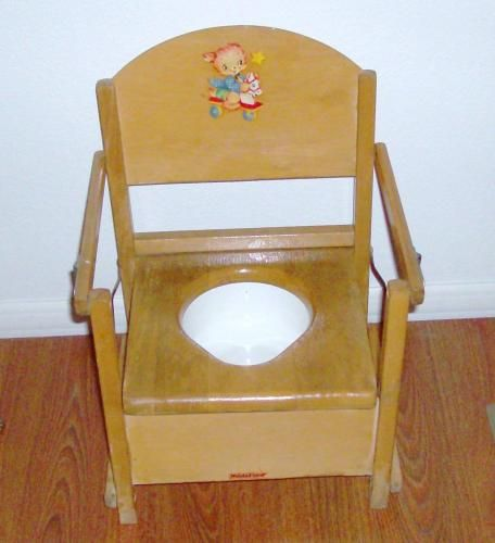 Vintage Nu Line Potty Chair My Children Potty Chair And