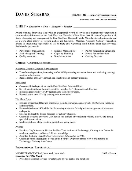 chef instructor cover letter chef resume cover letter cover letter for chef