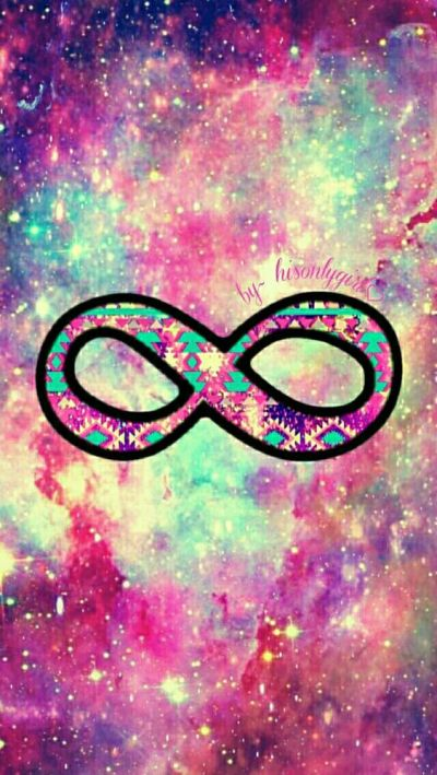 Infinity galaxy wallpaper I created for the app CocoPPa. | Vintage .. klop | Pinterest ...