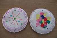 Tissue paper, Tambourine and Crafts on Pinterest