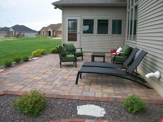 backyard patio ideas : patio paver good laying pavers on