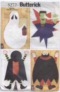 Halloween, Sew and Halloween door on Pinterest
