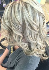 Cool blonde with lowlights. #kenracolor #lowlights | Hair ...