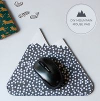 Make your own mountain mouse pad. | DIY Projects ...