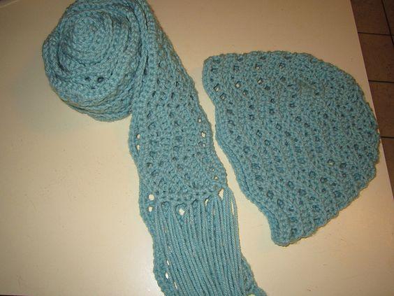 Crochet Scarf Pattern With Tassels Pakbit For