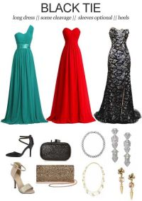 Wedding Dress Codes Decoded: Black Tie || It can be tricky ...