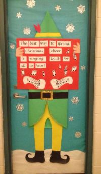 My Buddy inspired door decoration | bulletin boards ...