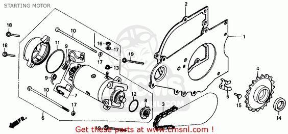 honda rebel schematic