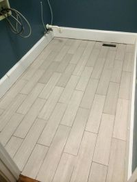 FINALLY a Floor - part 2 | Herringbone, Laundry room tile ...