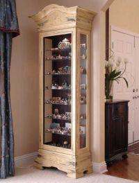 curio cabinet decorating ideas - Google Search | Furniture ...