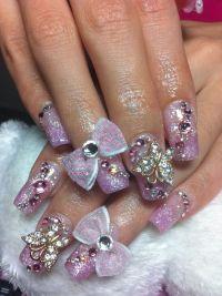 fall nail tip designs | Acrylic Nail Tip Designs ...