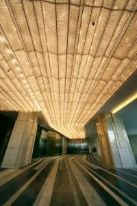 Beautiful Gold & Light - Amazing Ceiling Design and Depth ...