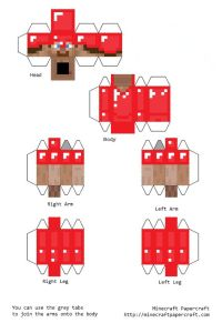 minecraft steve | images of minecraft papercraft steve ...