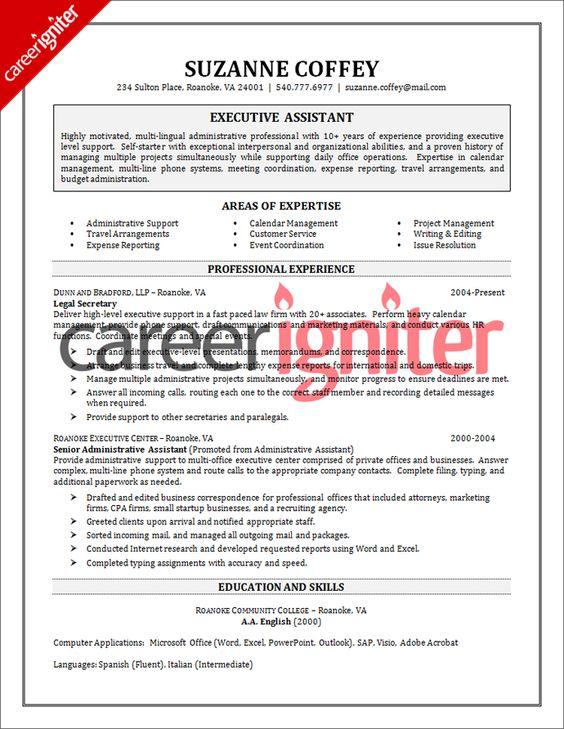 sle resume purchase executive construction company