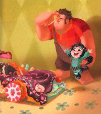 Wreck It Ralph - Concept and Tie-in Art | disney ...