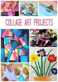 Collage Art for Kids | Collage, Collage art and Art kids