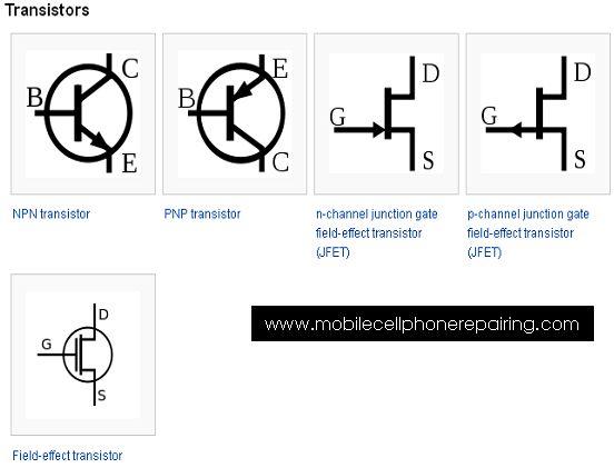 circuit symbols electronic components pinterest