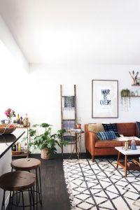 New Darlings - Boho Midcentury Living Room | spaces ...