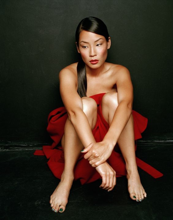 Girl Looking At Moon Wallpaper Lucy Liu In A Rare Michael Williams Photoshoot Lucy Liu