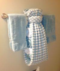 creative ways to display towels in bathroom | Hand towel ...