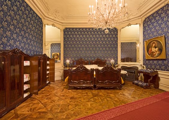 Bedroom Of Emperor Franz Joseph I And Empress Elisabeth