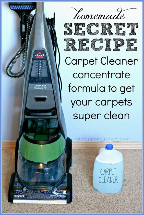 The Best Ever Homemade Carpet Cleaning Solution | Stains, Homemade