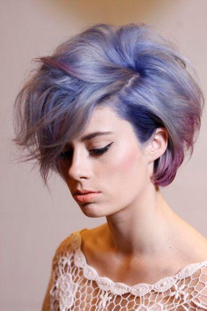cabello degradado: