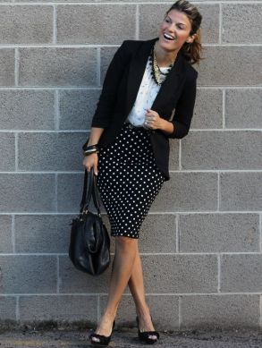 Marionberry Style- another fashion blog! ;)  here is a simple example of print mixing.: