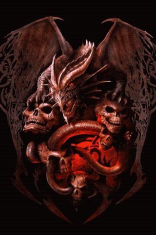 Goku Live Wallpaper Iphone 7 Plus Dragon Angel Of Hell Hell S Dragon Live Wallpaper 1 1
