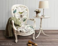 Antique Victorian ArmChair - classic unexpected cream ...