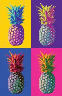 Different colored pineapples! This is such a fun piece for ...