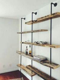 Industrial, Rustic industrial and Wall units on Pinterest