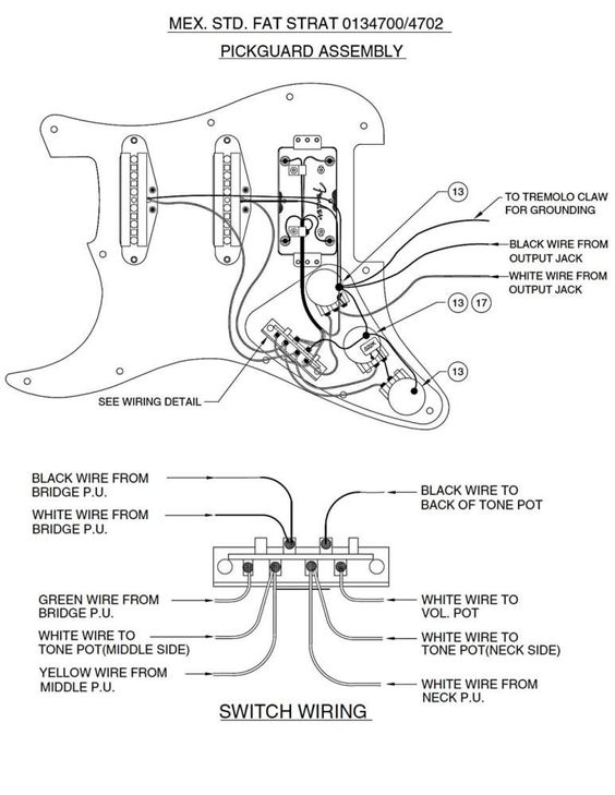guitar wiring on re strat guitar wiring