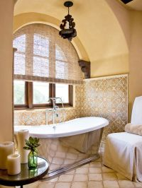 Spanish, Spanish style and Master bathrooms on Pinterest