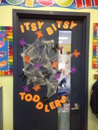 Halloween toddler classroom door | My Classroom Projects ...