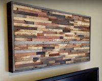 reclaimed wood wall art | DESIGN IDEAS | Pinterest | Wood ...