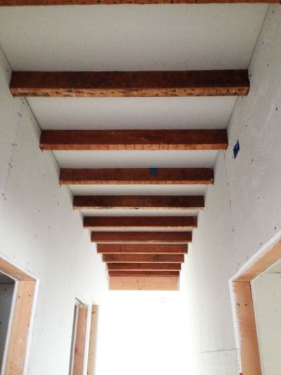 Portrayal of Exposed Ceiling Beams Ideas | Interior Design Ideas | Pinterest | Drywall, Exposed ...