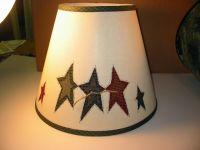 Primitive stars, Lamp shades and Primitives on Pinterest