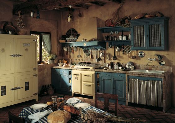 Cucina A Gas Stile Country Marchi Group - Doria Cucina Rustica In Stile Country In