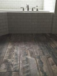 Wood tile floors, Wood tiles and Gold glitter on Pinterest