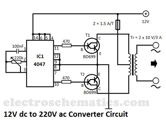 up dc converter circuit furthermore dc ac inverter circuit diagram