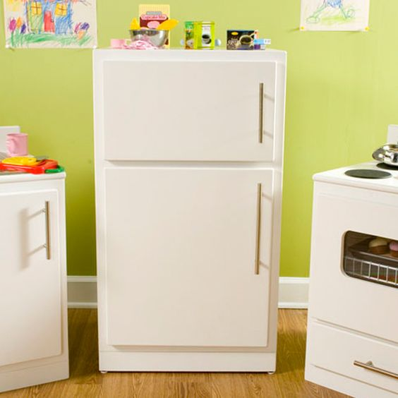 Kids Kitchen Set Kids Kitchen- Refrigerator They Even Have Instructions To