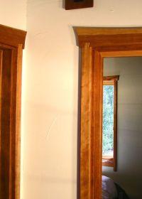 Love the dovetail door frame...Matt Downer Designs ...
