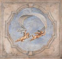 Extra Large Italian Canvas Art, Renaissance Mural Print ...