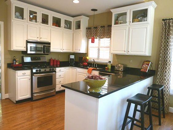 Adding Height To Kitchen Cabinets | The Home | Pinterest | New