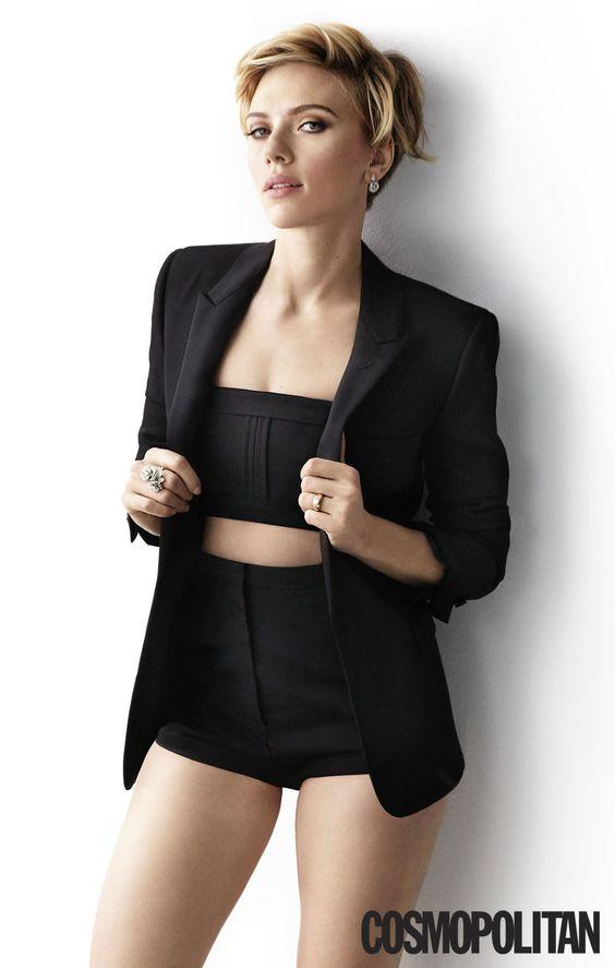 "Scarlett Johansson on Efforts to Defund Planned Parenthood: ""We're Moving Backward"":"
