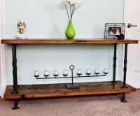 Console Table, Sofa Table, Reclaimed Wood Console Table ...