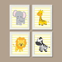 Jungle nursery, Nursery wall art and Jungles on Pinterest