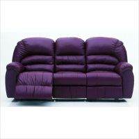 Leather, Purple sofa and The purple on Pinterest